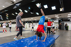 - Mandatory by-line: Ryan Hiscott/JMP - 24/05/2018 - RUGBY, GYMNASTICS, TENNIS, BASKETBALL, BADMINTON, CRICKET - Ashton Gate Stadium - Bristol, England - Celebration of Sport Week