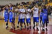 DESCRIZIONE : Roma LNP A2 2015-16 Acea Virtus Roma Moncada Agrigento<br /> GIOCATORE : Esultanza Moncada Agrigento<br /> CATEGORIA : esultanza post game<br /> SQUADRA : Moncada Agrigento<br /> EVENTO : Campionato LNP A2 2015-2016<br /> GARA : Acea Virtus Roma Moncada Agrigento<br /> DATA : 18/10/2015<br /> SPORT : Pallacanestro <br /> AUTORE : Agenzia Ciamillo-Castoria/G.Masi<br /> Galleria : LNP A2 2015-2016<br /> Fotonotizia : Roma LNP A2 2015-16 Acea Virtus Roma Moncada Agrigento
