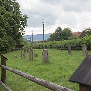 From The Depths visits the Jewish cemetery and surrounding area, where there were reports of locals partaking in disrespectful activities on July 1, 2015 in Piwniczna-Zdrój, Poland. (Photo by Elan Kawesch)