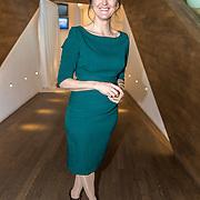 NLD/Amsterdam/20190314  - Koning bij viering 100 jaar Luchtvaart  in Nederland, Janine Abbring