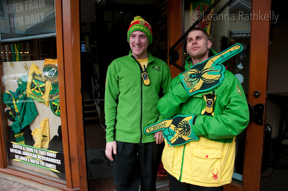 Jamaican, house, whistler, olympics, green, party,