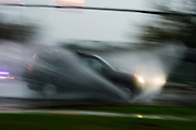 (photo by Matt Roth).Monday, October 29, 2012.Assignment ID: 10133655A..An SUV hydroplanes near the Naval Academy in Annapolis, Maryland Monday, October 29, 2012.