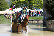Cathal Daniels (IRL) on Rioghan Rua during the International Horse Trials at Chatsworth, Bakewell, United Kingdom on 13 May 2018. Picture by George Franks.