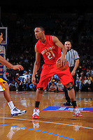Ohio State guard/forward Evan Turner #21 during the 2K Sports Classic at Madison Square Garden. (Mandatory Credit: Delane B. Rouse/Delane Rouse Photography)