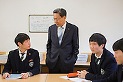 Hyuk in Kwon, Vice Principal Byung-Chul Shin, Ho jae Lee and  Ji sung Oh