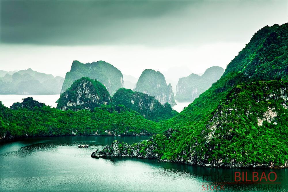 Ha Long Bay. Quang Ninh province, Vietnam.