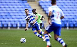 Chris Gunter of Reading passes the ball to Roy Beerens of Reading - Mandatory by-line: Robbie Stephenson/JMP - 29/07/2016 - FOOTBALL - Madejski Stadium - Reading, England - Reading v AFC Bournemouth - Pre-season friendly