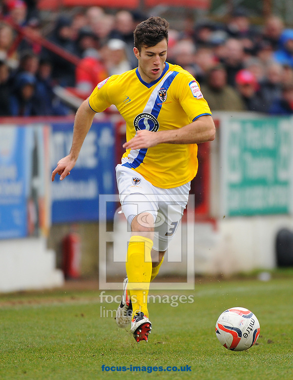 Picture by Seb Daly/Focus Images Ltd +447738 614630.16/03/2013.Jonathan Meades of AFC Wimbledon during the npower League 2 match at the EBB Stadium, Aldershot.
