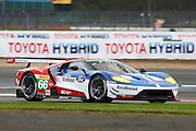 66 LMGTE Pro Ford Chip Ganassi Team UK / Ford GT / William Johnson / Stefan Mucke / Oliver Pla during the FIA World Endurance Championship at Silverstone, Towcester, United Kingdom on 15 April 2016. Photo by Craig McAllister.