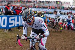 Ryo Takeuchi (JPN), Men Juniors, Cyclo-cross World Championship Tabor, Czech Republic, 31 January 2015, Photo by Pim Nijland / PelotonPhotos.com