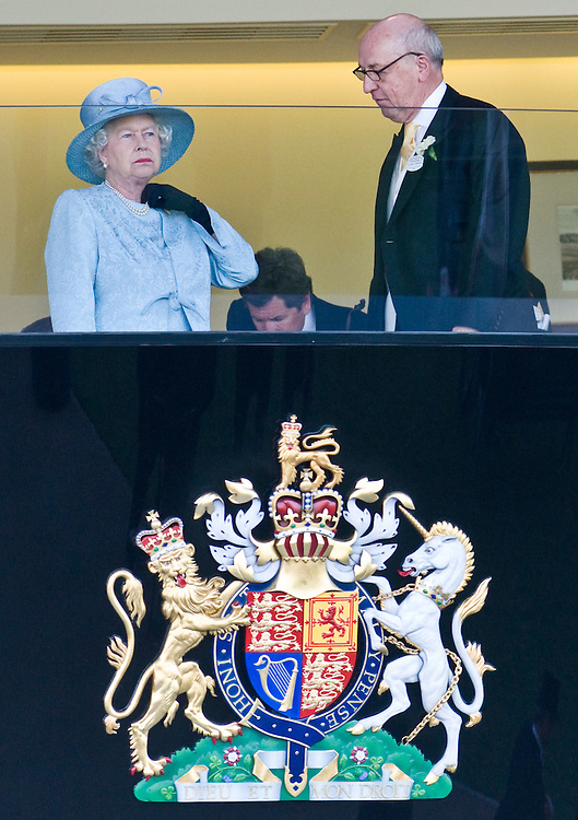 Ascot June 19th Lady's Day at Royal Ascot  Her Majesty Queen Elizabeth II