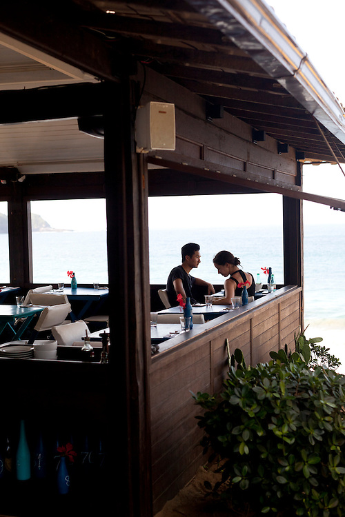 Rocka Beach Lounge and Restaurant, at Brava Beach.