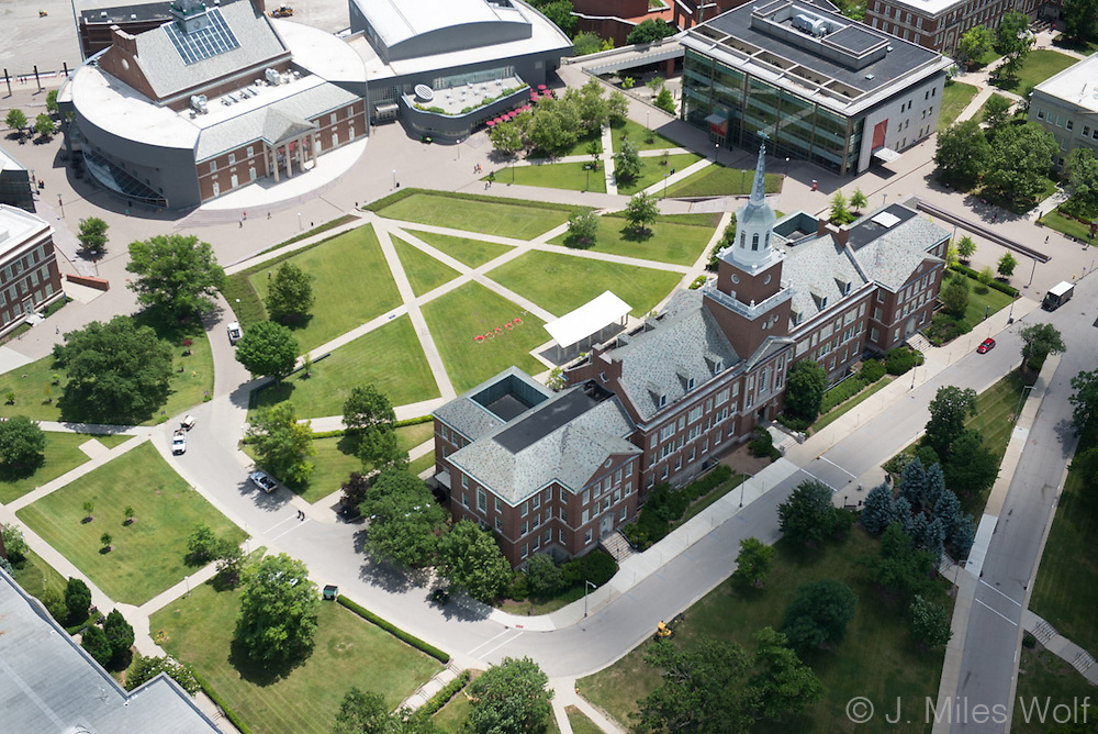 University of Cincinnati Aerial View