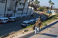 Tijuana, Mexico: drug addicts.