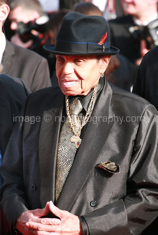 Joe Jackson at Sils Maria gala screening red carpet at the 67th Cannes Film Festival France. Friday 23rd May 2014 in Cannes Film Festival, France.