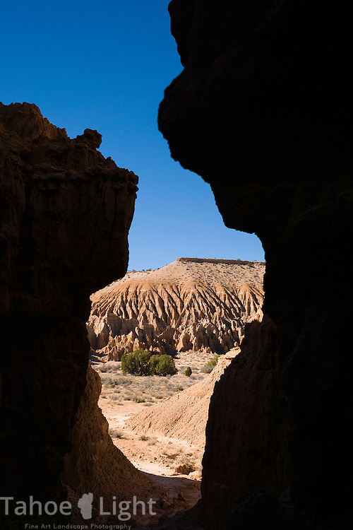 Rock formations in Cathedral Gorge state park in South Eastern Nevada, USA.