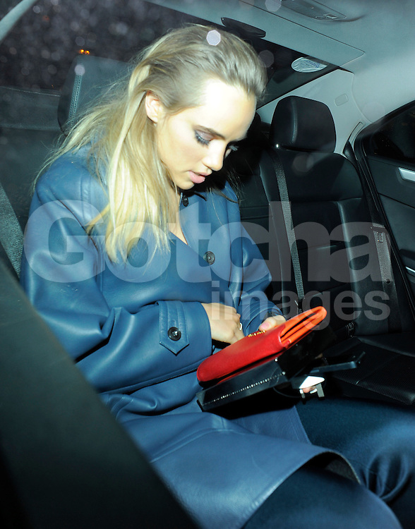 Suki Waterhouse attends Harvey Weinstein's pre-BAFTA dinner at Little House restaurant in London, UK. 14/02/2014<br />BYLINE MUST READ : GOTCHAIMAGES.COM<br /><br />Copyright by &copy; Gotcha Images Ltd. All rights reserved.<br />Usage of this image is conditional upon the acceptance <br />of Gotcha Images Ltd, terms and conditions available at<br />www.gotchaimages.com
