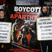 Zionism is Racism: Protest the Balfour 100 Concert!