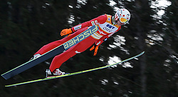 12.01.2014, Kulm, Bad Mitterndorf, AUT, FIS Ski Flug Weltcup, Erster Durchgang, im Bild Kamil Stoch (POL) // Kamil Stoch (POL) during the first round of FIS Ski Flying World Cup at the Kulm, Bad Mitterndorf, .Austria on 2014/01/12, EXPA Pictures © 2013, PhotoCredit: EXPA/ Erwin Scheriau