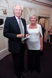 LORD & LADY HESELTINE at the Yota launch of Mikhailovsky Ballet's Swan Lake held at the London Coliseum, St.Martin's Lane, London on 13th July 2010.