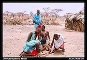 Making Fire<br /> Outside Samburu National Reserve, Kenya<br /> September 2012