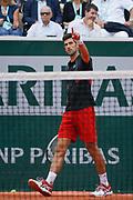 Novak Djokovic (SRB) during the Roland Garros French Tennis Open 2018, day 10, on June 5, 2018, at the Roland Garros Stadium in Paris, France - Photo Stephane Allaman / ProSportsImages / DPPI