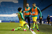 0-2, goal celebration by Matheus Pereira of West Bromwich Albion during the EFL Sky Bet Championship match between Sheffield Wednesday and West Bromwich Albion at Hillsborough, Sheffield, England on 1 July 2020.