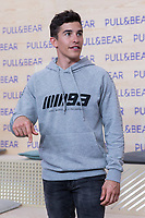 Marc Marquez attends the presentation of the new collection of clothes designed between the Spanish pilot Marc Marquez and Pull & Beard in Madrid, Spain. March 30, 2017. (ALTERPHOTOS / Rodrigo Jimenez)