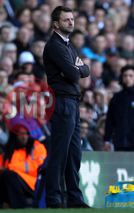 Aston Villa Manager, Tim Sherwood - Photo mandatory by-line: Robbie Stephenson/JMP - Mobile: 07966 386802 - 11/04/2015 - SPORT - Football - London - White Hart Lane - Tottenham Hotspur v Aston Villa - Barclays Premier League