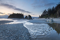 Rialto Beach twilight, Olympic National Park
