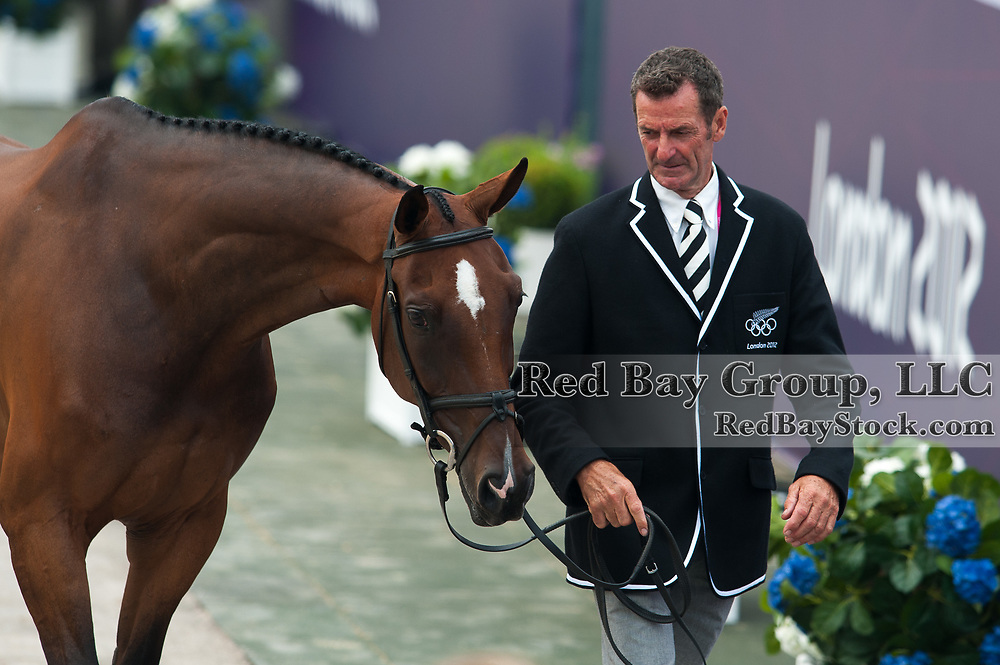 Mark Todd (NZL) & Campino - Eventing First Inspection - London 2012 Olympic Games - Greenwich Park, London, United Kingdom -  27 July 2012