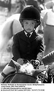 Nicholas Melhado at the Hampton Classic. Bridgehampton. Long Island. 1993. Film 93903f16<br />© Copyright Photograph by Dafydd Jones<br />66 Stockwell Park Rd. London SW9 0DA<br />Tel 0171 733 0108