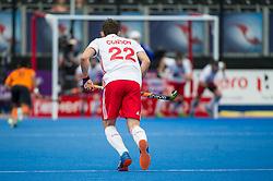 David Condon. England v Malaysia - 3rd/4th Playoff - Hockey World League Semi Final, Lee Valley Hockey and Tennis Centre, London, United Kingdom on 25 June 2017. Photo: Simon Parker