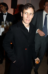 A party hosted by Mario Testino, Bianca Jagger and Kenneth Cole in collaboration with UNFPA and Marie Stopes International to celebrate the publication of Women to Woman: Positively Speaking - a book to raise awareness of women living with HIV/Aids, held at The Orangery, Kensington Palace, London on 2nd December 2004.<br />Picture shows:- SOPHIE HICKS.<br /><br />NON EXCLUSIVE - WORLD RIGHTS
