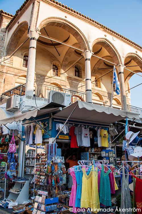 Athens, Greece - Shopping and vibrant markets