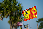 March 16, 2013: 61st Mobil 1 12 Hours of Sebring. Ferrari flag