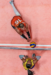 28-05-2019 NED: Volleyball Nations League Netherlands - Brazil, Apeldoorn<br /> <br /> /nl16/, Ana Paula Borgo Bedani Guedes #5 of Brazil