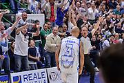 DESCRIZIONE : Beko Legabasket Serie A 2015- 2016 Playoff Quarti di Finale Gara3 Dinamo Banco di Sardegna Sassari - Grissin Bon Reggio Emilia<br /> GIOCATORE : David Logan<br /> CATEGORIA : Ritratto Esultanza Tifosi Pubblico Spettatori<br /> SQUADRA : Dinamo Banco di Sardegna Sassari<br /> EVENTO : Beko Legabasket Serie A 2015-2016 Playoff<br /> GARA : Quarti di Finale Gara3 Dinamo Banco di Sardegna Sassari - Grissin Bon Reggio Emilia<br /> DATA : 11/05/2016<br /> SPORT : Pallacanestro <br /> AUTORE : Agenzia Ciamillo-Castoria/L.Canu