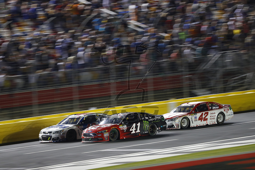 May 28, 2017 - Concord, NC, USA: Kurt Busch (41) battles for position during the Coca Cola 600 at Charlotte Motor Speedway in Concord, NC.