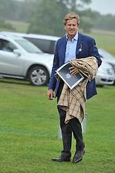 ROB HERSOV at the Sentebale Polo Cup held at Coworth Park, Berkshire on 12th June 2011.