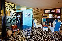 Maroc, Casablanca, le cafe Paul dans la Villa Zevaco // Morocco, Casablanca, Paul Cafe in the Zevaco Villa