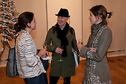 ALEXANDER DUGDALE; JOHN SHIELD; LIZY WHITING, Do Not Abandon Me - private view od wok by Tracey Emin alongside that of Louise Bourgeois. <br /> Hauser & Wirth London, 15 Old Bond Street, London, 17 February 2011. -DO NOT ARCHIVE-© Copyright Photograph by Dafydd Jones. 248 Clapham Rd. London SW9 0PZ. Tel 0207 820 0771. www.dafjones.com.