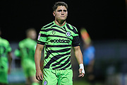 Forest Green Rovers Matty Stevens(9) during the Leasing.com EFL Trophy match between Forest Green Rovers and Coventry City at the New Lawn, Forest Green, United Kingdom on 8 October 2019.