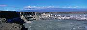 Kilauea Caldera, Kilauea Volcano, Hawaii Volcano National Park, Island of  Hawaii, USA<br />
