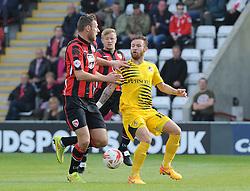 Matt Taylor - Mandatory byline: Neil Brookman/JMP - 07966 386802 - 03/10/2015 - FOOTBALL - Globe Arena - Morecambe, England - Morecambe FC v Bristol Rovers - Sky Bet League Two