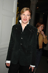 HENRY CONWAY at a party to celebrate the launch of the Astley Clarke Fine Jewellery Collection held at The Connaught hotel, London W1 on 28th February 2008.<br /><br />NON EXCLUSIVE - WORLD RIGHTS