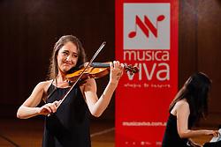 Maxim Vengerov conducts a violin masterclass at the Sydney Conservatorium of Music, on Wednesday, 9 December 2015.