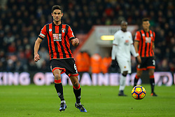Andrew Surman of Bournemouth in action - Mandatory by-line: Jason Brown/JMP - 21/01/2017 - FOOTBALL - Vitality Stadium - Bournemouth, England - Bournemouth v Watford - Premier League