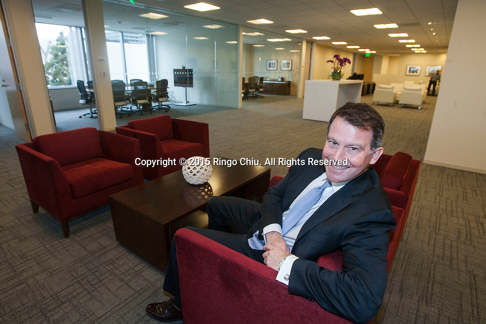 Office managing partner Jim Beaubien of Latham &amp; Watkins at the firm&rsquo;s new Century City office. <br /> (Photo by Ringo Chiu)