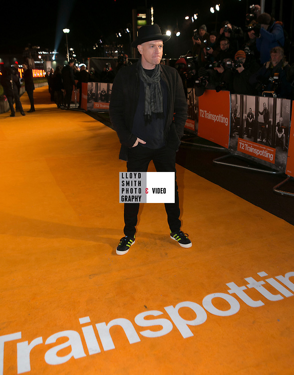 THE WORLD PREMIERE OF T2 TRAINSPOTTING<br /> CINEWORLD, FOUNTAIN PARK, EDINBURGH<br /> pictured here are<br /> <br /> <br /> <br /> <br /> Danny Boyle                       Director<br /> Ewan McGregor               Cast<br /> Ewen Bremner                  Cast<br /> Jonny Lee Miller               Cast<br /> Robert Carlyle                   Cast<br /> Kelly Macdonald               Cast<br /> Anjela Nedyalkova          Cast<br /> Irvine Welsh                       Author<br /> John Hodge                        Writer<br /> Andrew Macdonald        Producer<br /> Christian Colson                Producer<br /> Allon Reich                          Exec Producer<br /> Shirley Henderson           Cast